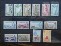 Gibraltar 1953 - 1959 set to £1 SG145 - SG158 MM