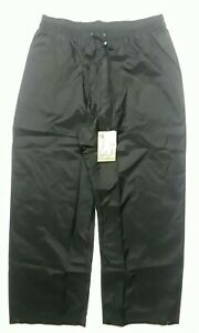 NWT Walls Fishing Apparel Black Waterproof Pants High Waist Outer Shell Men's XL