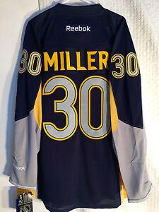 Reebok Premier NHL Jersey Buffalo Sabres Ryan Miller Yellow sz S