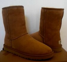 UGG CLASSIC Short CHESTNUT Suede Winter snow boots  US 6 /37 NEW 5825 Comfy!!