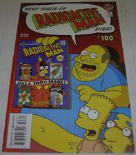 RADIOACTIVE MAN #100 (Bongo 2000) Comic Book Guy (VF-) Faux 1963 issue inside