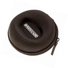 Travel Watch Case | Single Box w/Zipper for Proper Storage | Cushioned Round | F