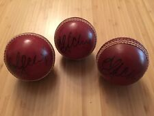 ADAM GILCHRIST - HAND SIGNED FULL SIZE CRICKET BALL - THE ASHES - WICKETKEEPING