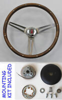 "1967 Olds Cutlass 442 Delta GRANT Wood Steering Wheel Walnut 15"" New"