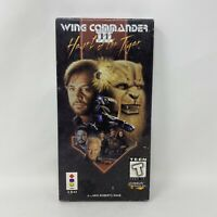 Wing Commander III: Heart Of The Tiger (3DO) - Complete Long Box Tested Working