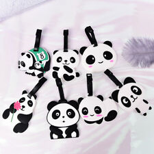 New Cute Panda Bear Luggage Tag Label Suitcase Bag ID Tag Name Address Tag W&C