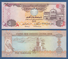 V. A. EMIRATE / EMIRATES 5 Dirhams 2013 Replacement 999 UNC P.26 br