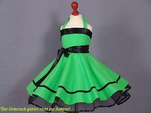 Mädchen 50er Jahre Kleid zum Petticoat Tanz,Einschulung Gr128,134,140  Kiwi