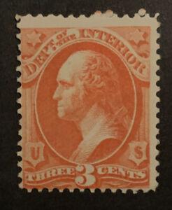 TDStamps: US Official Stamps Scott#O17 Mint HR OG