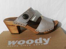 Woody Shoes Silke Chaussures Femme 41 Sandales Sabots Mules Escarpins UK8 Neuf