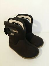 TODDLER SIZE 5 BOGS BRAND Black ALL WEATHER BOOTS