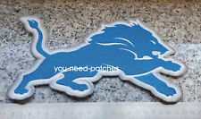 "NFL Football Detroit Lions Team Logo huge 9"" Patch Superbowl sew on Aufnäher"