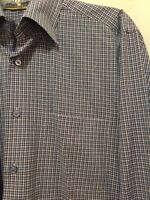EUC ROBERT TALBOTT Long Sleeve Button Front Shirt Mens Size Medium