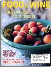 Food & Wine - 2000, August - A Country French Celebration, Hot Parties