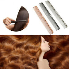 Aluminum Metal Cutting Comb Hair Hairdressing Barbers Salon Professional Combs
