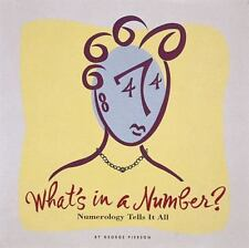 WHAT'S IN A NUMBER? - NEW HARDCOVER BOOK
