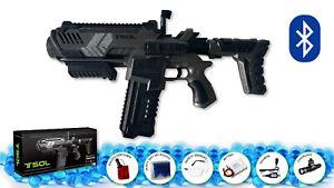 Gel Ball Blaster with video game app Toy Water Bead Electric Gel Gun Blaster
