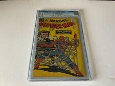 AMAZING SPIDER-MAN 25 CGC 5.5 MARY JANE WATSON SPIDER-SLAYER MARVEL COMICS 1965
