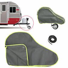 Grau Anhänger und Wohnwagen Zubehör Deichselschutz Anhängerkupplung Abdeckung