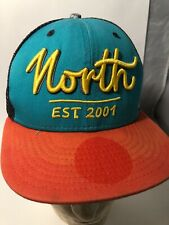 North kiteboarding Kitesurfing  New Era 9fifty Est. 2001 Snapback Mesh