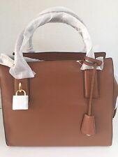 NWT Michael Kors McKenna Medium Leather Luggage Satchel Bag 30F5GEKS2L