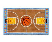 Tappeto cameretta 80X140 cm bambino morbido shaggy camera campo basket pallone
