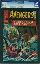 Avengers #27 CGC 8.5 -- 1966 -- Kirby. Wasp. Attuma. Beetle. #0262213012