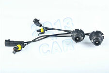 HID BALLAST KIT XENON D2S D2R TO AMP WIRE HARNESS ADAPTER LIGHT CONVERSION 2PCS