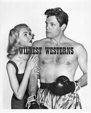 JACK LORD boxing RARE Joi Lansing VINTAGE ORIGINAL boxing photo SHIRTLESS sexy