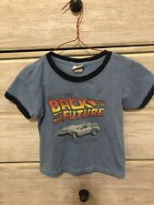 Back To The Future Tee Shirt Kid Size Child Small 5/6
