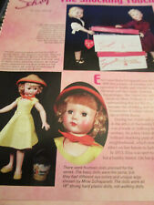 6pg Schiaparelli Doll History Article SHOCKING TOUCH / Murrayu