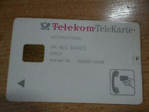 Telekom Telekarte  weiß  INTERNATIONAL