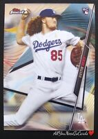 Dustin May 2020 Topps Finest Baseball Rookie Card RC #76 Los Angeles Dodgers
