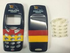 Nokia 3310,3330 Adelaide Crows AFL Matching Front & Back Covers & Keypad. Br/New