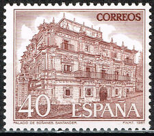 Spain Famous Architecture Sonanes Palace in Villacarriedo stamp 1987 Mnh