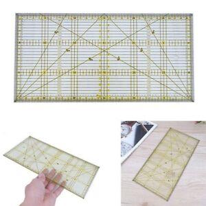 Transparentes Universal Patchwork Lineal Perfekt für Rollschneider in 15 x 30cm