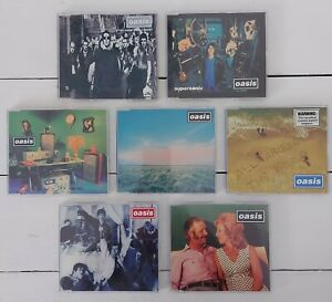 Lot of 7 Rare OASIS Collectable CD Singles