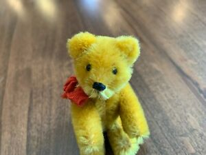 """Antique Schuco 3.5"""" Gold Bear"""
