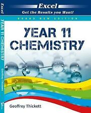 Excel Year 11 - Chemistry Study Guide by Geoffrey Thickett (Paperback, 2017)