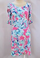 """New Lilly Pulitzer Women's Lajolla Dress """"Lobsters in Love"""", XS"""