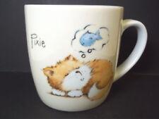China coffee mug Pixie dream fish Cute Kitten series Tesco stores UK 2006 12 oz