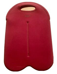 Built NY Byo Bag Red Insulated Neoprene Lunch Tote Drink 2  Bottle
