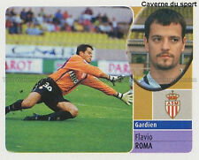 FLAVIO ROMA # ITALIA AS.MONACO AC.MILAN VIGNETTE STICKER  PANINI FOOT 2003