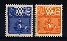 ST. PIERRE AND MIQUELON - 1947 - Segnatasse -
