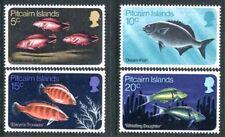 Pitcairn Islands 114-117, MNH, Marine Life, Fish 1970.SCV-$11.00. s6344