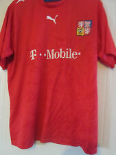 Czech Republic 2006-2008 Home Football Shirt Size xl /40534