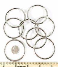 """Steel 0-Rings Rings Nickel Plate 1 1/2"""" Id 50 pcs"""