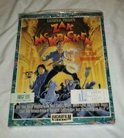 AMIGA 100% Complete ZAK McKRACKEN and Alien Mindbenders LUCASFILM 1988 MINT RARE