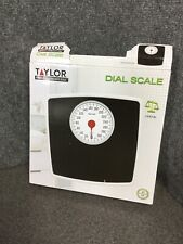 Silver/Black Mechanical Bath Scale With 5-Inch Dial M32C