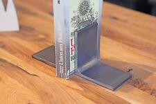 Buchstützen Upcycling Handmade Buchständer Industriedesign Stahl Bücherstützen